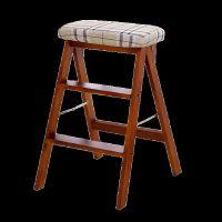实木创意折叠凳简约折叠梯凳厨房凳便携小凳子折叠家用板凳高凳子