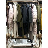 品牌女装走份网站欧维18年冬装新款羽绒服大衣