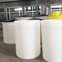 常州厂家直销1吨PE盐箱 腾洁MY-1000L牛津料溶盐箱 水处理盐桶 滚塑化工储罐