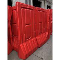 江门新款道路施工隔离高栏水马 全新料红色防撞水马围栏