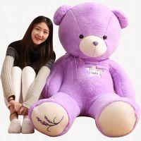 紫色薰衣草熊毛绒玩具泰迪熊公仔布娃娃生日礼物香味抱抱熊女生