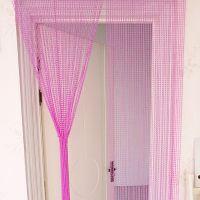 水晶珠帘卧室房间门帘玄关隔断帘客厅屏风软隔断欧式装饰成员吊坠