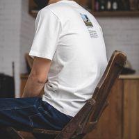 马登工装 美式复古阿波罗登月纪念t恤vintage夏季百搭印花打底衫