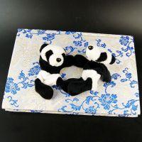 成都毛绒可爱熊猫冰箱贴磁性贴旅游纪念品出国送老外创意小礼物