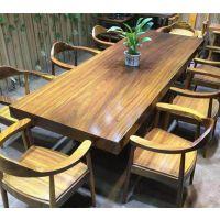 高档实木桌椅 红木家具