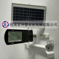 荥阳太阳能灯厂家坤德实业供应50瓦新农村用太阳能庭院灯墙壁灯