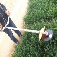 斜跨式两冲程割草机汽油动力效率高