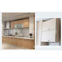 整体三胺板橱柜定做开放式厨房装修 深圳龙岗厂家