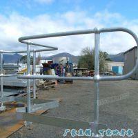 球形柱栏杆按图定制 海口镀锌球型护栏 三亚球型立柱栏杆厂家