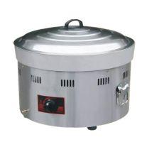 商用煤气圆型台式电饼铛燃气煎包锅烤饼机煎饺炉煎饼机多功能锅