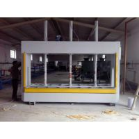 HC刨花板冷压机 做门专用冷压设备 压缩机压合木工板材成型机