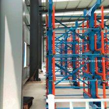 山西棒料存放架 正耀伸缩式管材货架用料 伸缩悬臂货架厂家