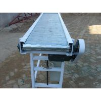 弘捷碳钢链板输送机-输送机生产厂家