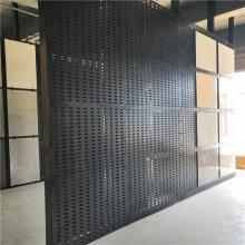 800瓷砖展架,专业展板货架冲孔板,地砖展柜制造商