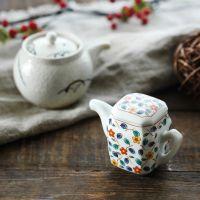 日本进口陶瓷调料罐 酱油壶调料壶
