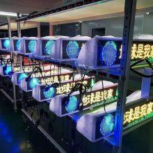 彩色LED出租车顶灯屏、全彩LED顶灯显示屏GPRS传输制造厂家