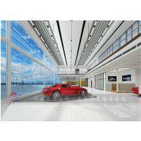 郑州汽车4S店设计重视灯光能增强展厅效果,郑州专业汽车4S店装修公司