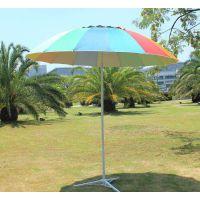 12骨沙滩伞、户外遮阳伞、户外广告太阳伞