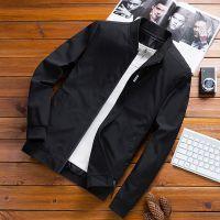男式夹克2018春秋新款韩版修身青年棒球服薄款男装外套休闲夹克潮