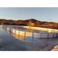 冰球场围栏 2019年新材质围栏挡板