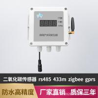 二氧化碳传感器rs485变送器CO2气体检测防水高精度