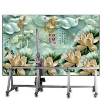 汉皇户外室内墙体彩绘机大型3d打印墙面绘画机
