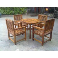 现货供应户外实木桌椅 休闲家具 木质桌椅