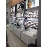 晋江眼镜展示柜设计定做报价全店定制