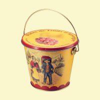 马口铁手提食品桶