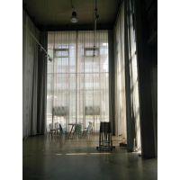 北京定做学校医院酒店布艺窗帘纱帘别墅客厅飘窗遮光电动布艺开合窗帘