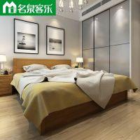 简约现代床头 床箱CTM19-1020高密度纤维板大连板式家具工厂直销
