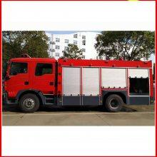 湖南东风8吨消防车水泡两用119消防车图片