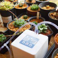 新款家用自动浇水器智能淋花滴水器盆栽滴灌系统洒水懒人定时浇花