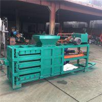 黑龙江秸秆打捆机 液压驱动造纸原料打包