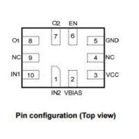 供应嘉泰姆驱动IC CXAS4233Q高性能双单刀单掷模拟开关高压隔离