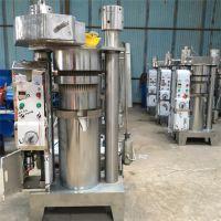 小型商用食用油加工设备 多功能液压榨油机 全自动花生榨油机