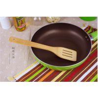 厨房不粘锅专用炒菜竹铲方铲三线 健康长柄不烫手耐高温铲子厨具