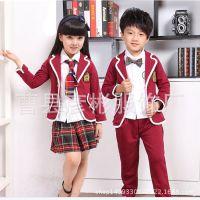 厂家供应西装套装演出服中小学生校服幼儿园男套装 质量保证