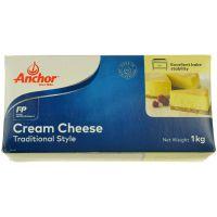安佳Anchor奶油奶酪1kg 忌廉芝士 乳酪芝士蛋糕 烘焙原料批发
