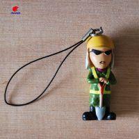 PVC卡通日本公仔 玩具厂定制 背包小玩意饰品塑胶钥匙扣