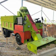 一款适合养殖场用的三轮地面清粪运输车