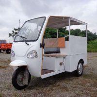 封闭式电动汽油燃油150风冷动力正三轮车带棚防雨接送载客三轮车