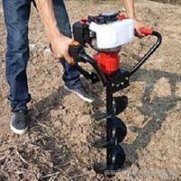 厂家直销林业种树挖坑机 植树多功能汽油四冲程挖坑机 立柱打眼机