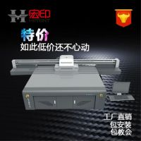 广州理光万能平板打印机那家好 真皮3D浮雕喷绘机 皮革彩色平板打印机