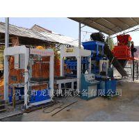 建筑垃圾制砖机生产线 选择巩义龙联混凝土预制水泥砖机厂家错不了