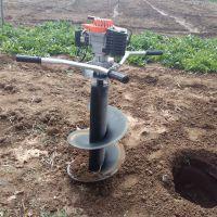 大棚建设挖坑机 果园种植挖坑机 圣鲁牌