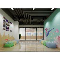 郑州艺术培训学校装修公司--天天少儿艺术培训学校设计案例