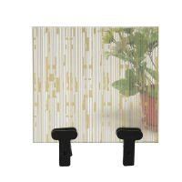 厂家定制背景墙玻璃 白玻夹丝夹胶玻璃 屏风艺术玻璃长期供应