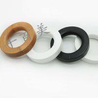 实木配件裤圈 领带木圈 实木挂件 丝巾围巾椭圆榉木环