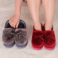 直销新款简洁居家棉拖鞋 工厂批发室内外秋冬季保暖月子棉鞋批发